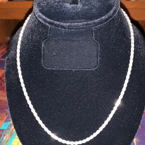 .925 Italian Necklace 18 inch Designer